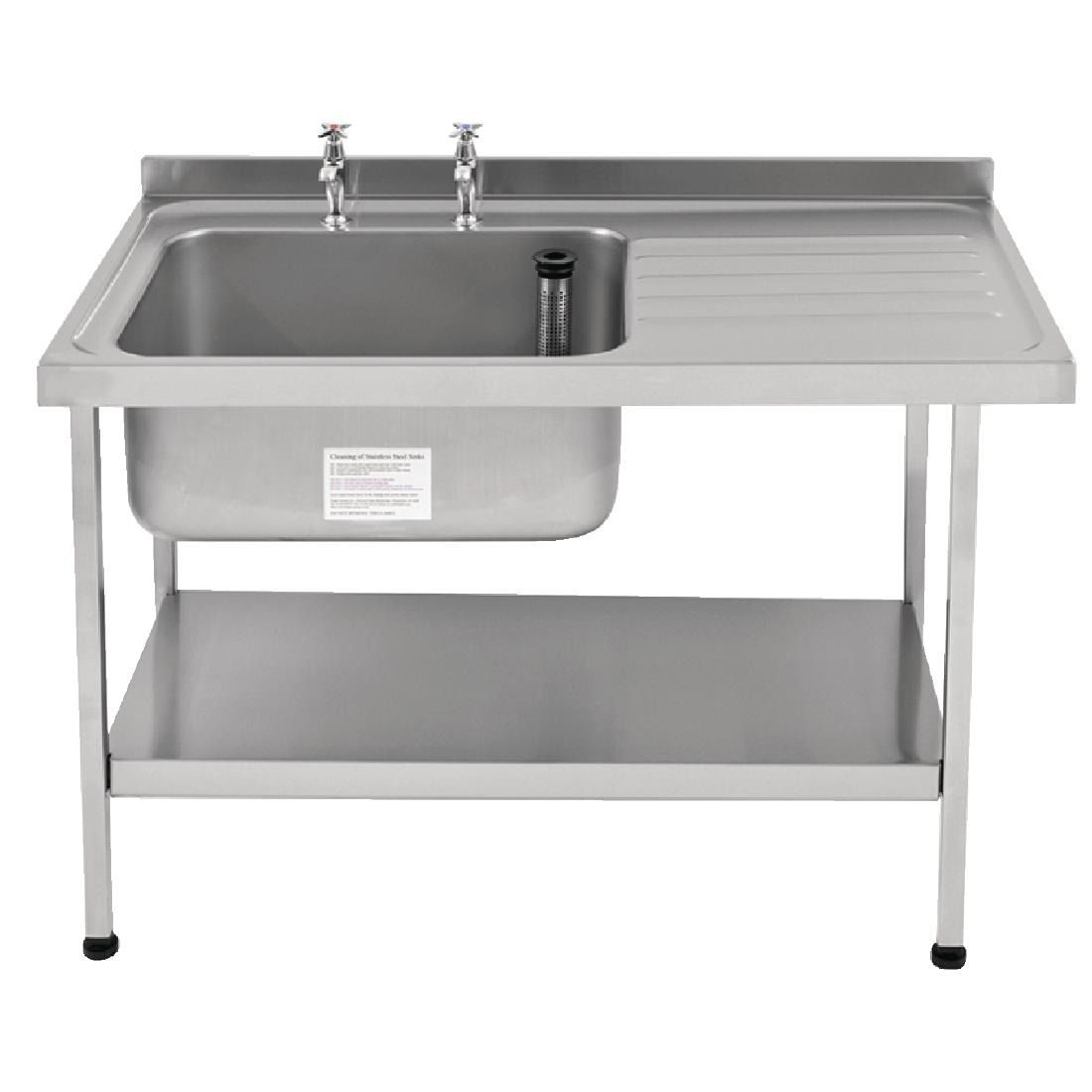 Franke Self Assembly Stainless Steel Sink Left Hand Bowl 1500x 650mm - P367